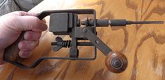 My old hand operated hammer drill