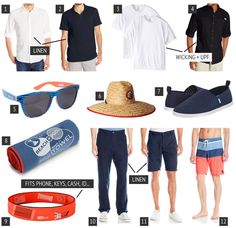 What to pack for Thailand? Men's Clothing Packing List