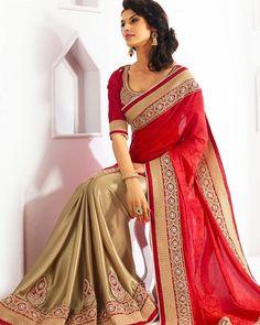 Royal Red Georgette Saree Product ID : 772810 | Price : USD 35 Your favourite product is just ONE CLICK away!  Click on Link in bio & SHOP DIRECTLY  Worldwide Delivery  7 day return policy with 100% refund. Follow us on @mirraw DM or whatsapp on 91 8291100288  Visit m.mirraw.com/insta #saree #sari #sareeandblouse #shadesofwedding #weddingvibes #weddingcouture #weddingfashion #weddingseason #diwali #festiveseason #royalsaree  #fashion #glamour #bigfatindianwedding #royaltyoverloaded…