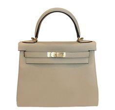 e5d64e6e4eee Gorgeous Hermes Kelly 28cm bag made of smooth and resilient Togo leather.  Featured in new