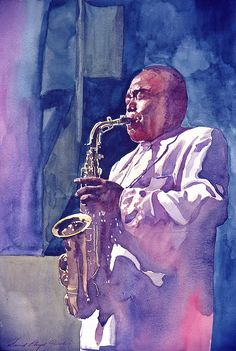 The great Charlie Parker