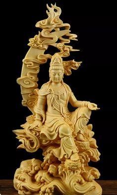 Guanyin, Lion Sculpture, Statue, Art, Art Background, Kunst, Performing Arts, Sculptures, Sculpture