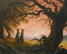 Caspar's Moonrise - by Robert Bissell :)