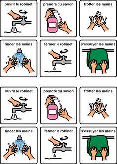 se laver les mains - comment le faire