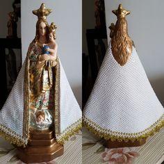 Nossa Senhora de Nazaré restairada by Andreia Linhares