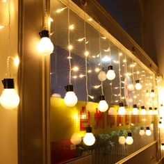 46.33$  Buy now - http://alicsl.shopchina.info/go.php?t=32735881095 - Big Size 4*0.5m LED Ball Curtain String Lights Fairy Wedding Party Room decoration Garland New Year Christmas LED holiday light 46.33$ #bestbuy