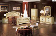 Aida Italian Bed | Classic Bedroom