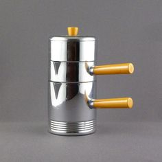 Russel Wright for Chase individual coffee set by PrairieDecArts, $112.00 I want one only cheaper!