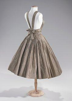 1950, vestidos de vuelo