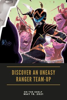 Drakkon and Omega Rangers on the Run in Power Rangers #7 from Boom! Studios — Constant Collectible Boom Studios Power Rangers, Lord Drakkon, Rangers Gear, Mighty Morphin Power Rangers, Buffy The Vampire Slayer, Mega Man, Geek Culture, New Series, Teenage Mutant Ninja Turtles