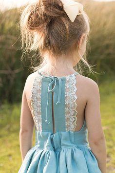 Espaldas de vestido de verano / niños / Second Street de los niños