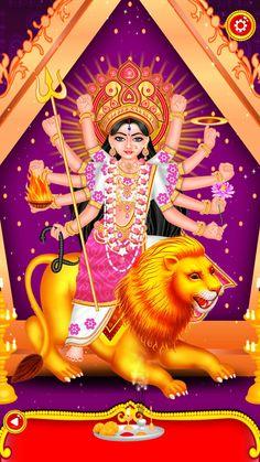 Bhagwati Durga Durga Maa, Durga Goddess, Maa Image, Frog Crafts, Mother Goddess, God Pictures, Hindu Art, Gods And Goddesses, Hinduism