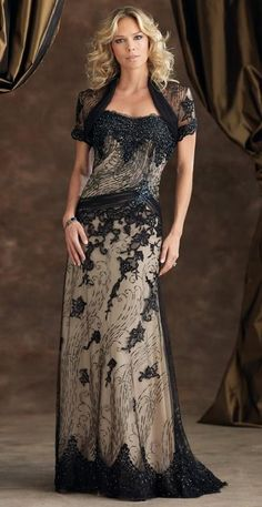 Luxury Beaded Mothers Dresses With Short Wrap Short Sleeves See Through Beadings Crystals Floor Length Mermaid Shape Elegant Formal Dress Mother Of Groom Dresses For Fall Mother Of The Dresses From Yateweddingdress, $165.55| Dhgate.Com