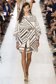 the coat everyone was talking about // Tory Burch #SS15 #RTW #NYFW