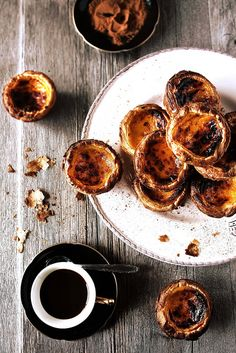 portuguese. custard tarts.