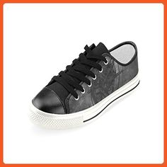 Artsdd Essence Black Custom Canvas Shoes For Womens New Arrival -- Read  more at the image link. (This is an affiliate link) 2c620f912