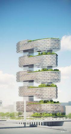 Office Tower Le Cinq Paris