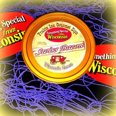 Wisconsin's BEST: Our SWISS BACON - DELICIOUS! Top Your Burger with this amazing gourmet dip!!! Oh so-ooo GOOD!