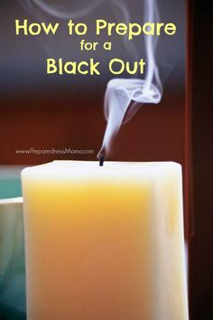 Get ready for winter weather: How to prepare for a black out | PreparednessMama