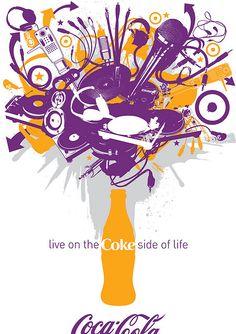 Coke Side of Life: Coca-Cola Art Remix by Coca-Cola Art Gallery, via Flickr