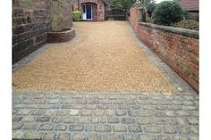 image of: how to make a decomposed granite path ravenscourt gardens within crushed granite driveway. watch this space for finished driveway. front garden and driveway ideas fr… Driveway Apron, Driveway Edging, Resin Driveway, Stone Driveway, Gravel Driveway, Gravel Patio, Driveway Landscaping, Pea Gravel, Pebble Driveway