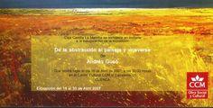 """""""De la abstracción al paisaje y viceversa"""" exposición de Andrés Gusó en Caja Castilla-La Mancha Abril 2007 #CajaCastillaMancha #Cuenca #AndresGuso"""