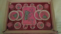 Vintage 1959 Lady Gentleman Ohio Art Tea Set Factory SEALED New Condition | eBay
