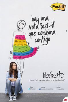 Post-it - Chile. Hay una nota Post it que combina contigo!!