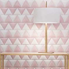An article with decorating ideas for wallcoverings such as leather, polished plaster, grasscloth, cork and wall murals Yacht Design, Loft Design, Saint Germain, Upholstered Wall Panels, Tile Bedroom, Tiles Uk, Leather Wall, Pink Leather, Polished Plaster