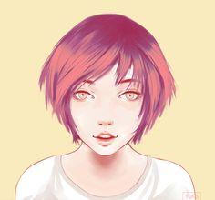 #digital #digitalpainting #emotional #expressive #girl #portrait #surprised #surprisingly #art