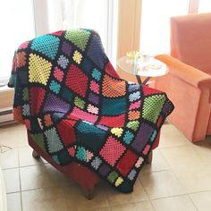 Vivre au crochet: Harmony - granny blanket