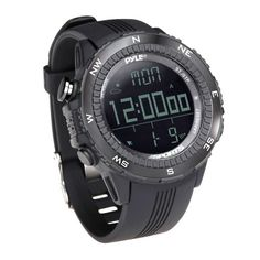 Multifunction Watch Altimeter Compass Temperature & Pressure Measurement Pedometer Calorie Countdown Outdoor Sports Men Watches Relieving Rheumatism And Cold Men's Watches