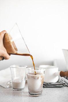 • Date & Vanilla Bean Coconut Cream Cafe Au Lait •
