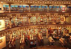 The Last of the Book Porn Maybe: bookstore-el-ateneo-2