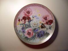 Poppy Pastorale Plate by Lena Liu