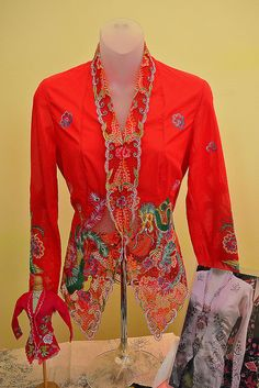 Nonya Kebaya Embroidery #2 by chooyutshing, via Flickr