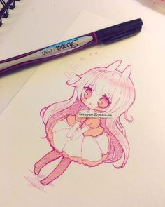 doodle with sharpie fineliner pen~ you can buy in most art stores but it's…