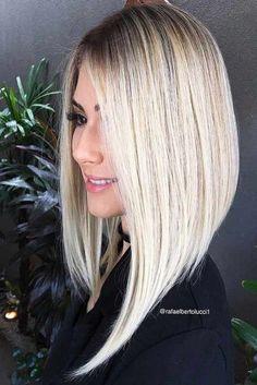 Inspiring Long Bob Hairstyle Ideas ★ See more: http://glaminati.com/long-bob/