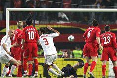 Goal - Maldini 0-1