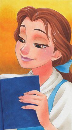 Manga Style Disney Princess by Chihiro Howe Belle