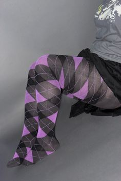 More fun socks and legging to drool over.
