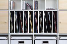 Die #Schallplatte ist tot - es lebe die Schallplatte! So werden die #Vinyls im #Ikea #Kallax #Regal richtig aufbewahrt!