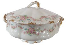 "Haviland Soup Tureen France  1910-1950 8.5""W x 8""H ($299.00)  $179.00 OneKingsLane.com"