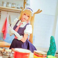 kobayashis dragon maid cosplay
