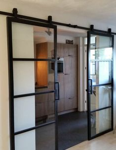 Industrial Interior Window and Industrial Interior Clothing Racks.