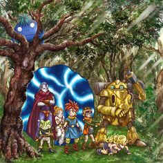 Chrono Trigger, Some Games, All Games, Video Game Art, Video Games, Chrono Cross, Epic Characters, Anime Group, Dragon Quest