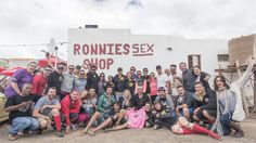 On the second to last day of The Dunlop Hamba, teams pulled over at the iconic Ronnie's Sex Shop on Route 62.