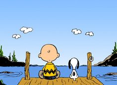 The Charles Schulz Philosophy on Life. You're never too old for Snoopy and Charlie Brown. http://glad.is/article/the-charles-schulz-philosophy/#