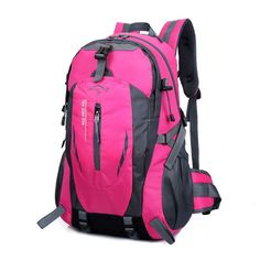 Unisex 40L Waterproof Durable High-Quality Outdoor Nylo Backpack 8 Colors