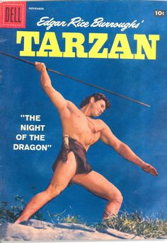 from $24.95 - Tarzan #Comic Book Gordon Scott Beefcake Muscle Cover November 1957 #98